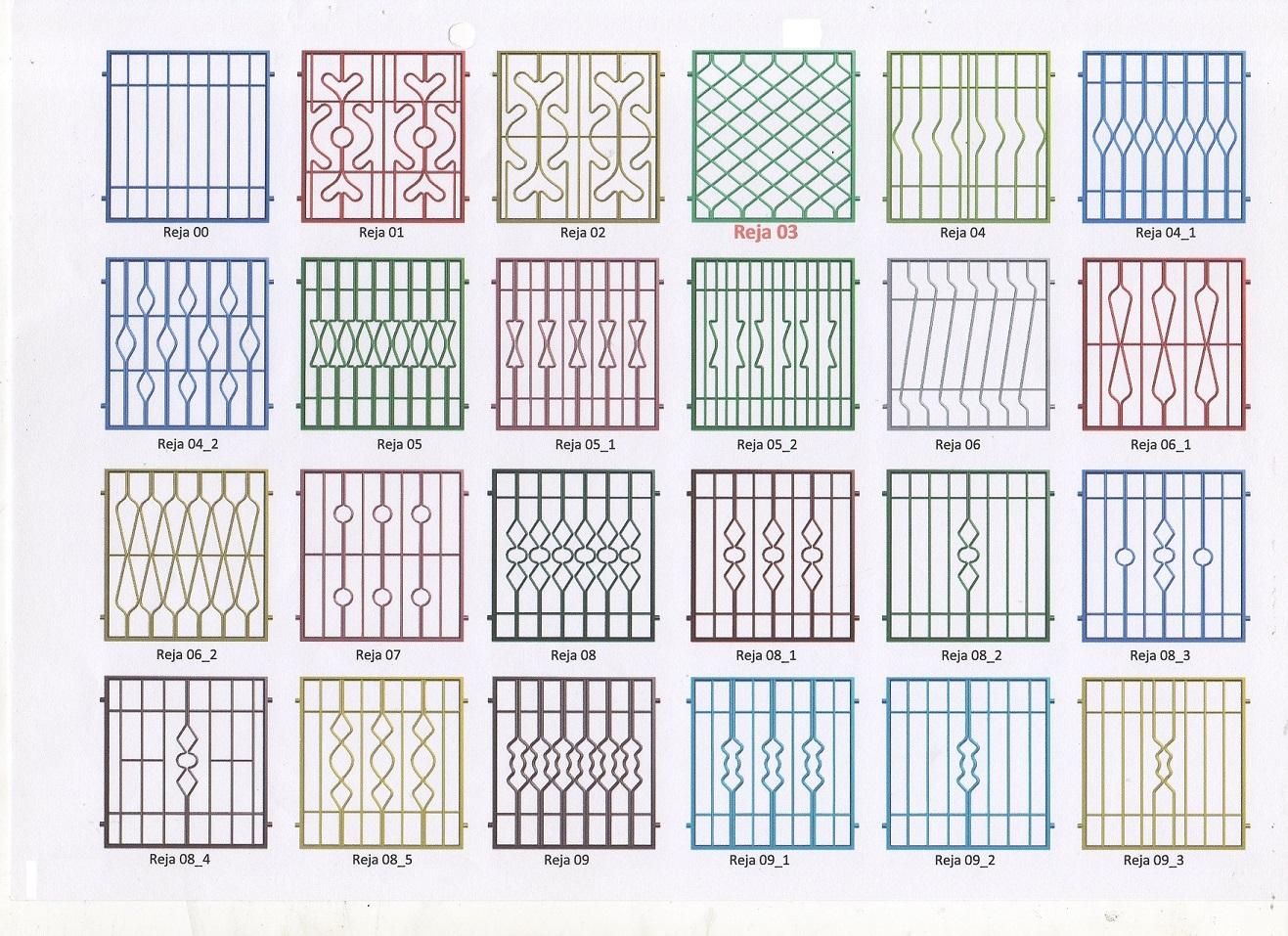 Rejas para ventanas barcelona instalaci n reparaci n - Modelo de rejas ...