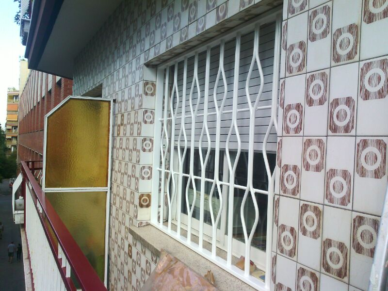 Rejas para ventanas Madrid - Instalación, Reparación, Venta Online ...