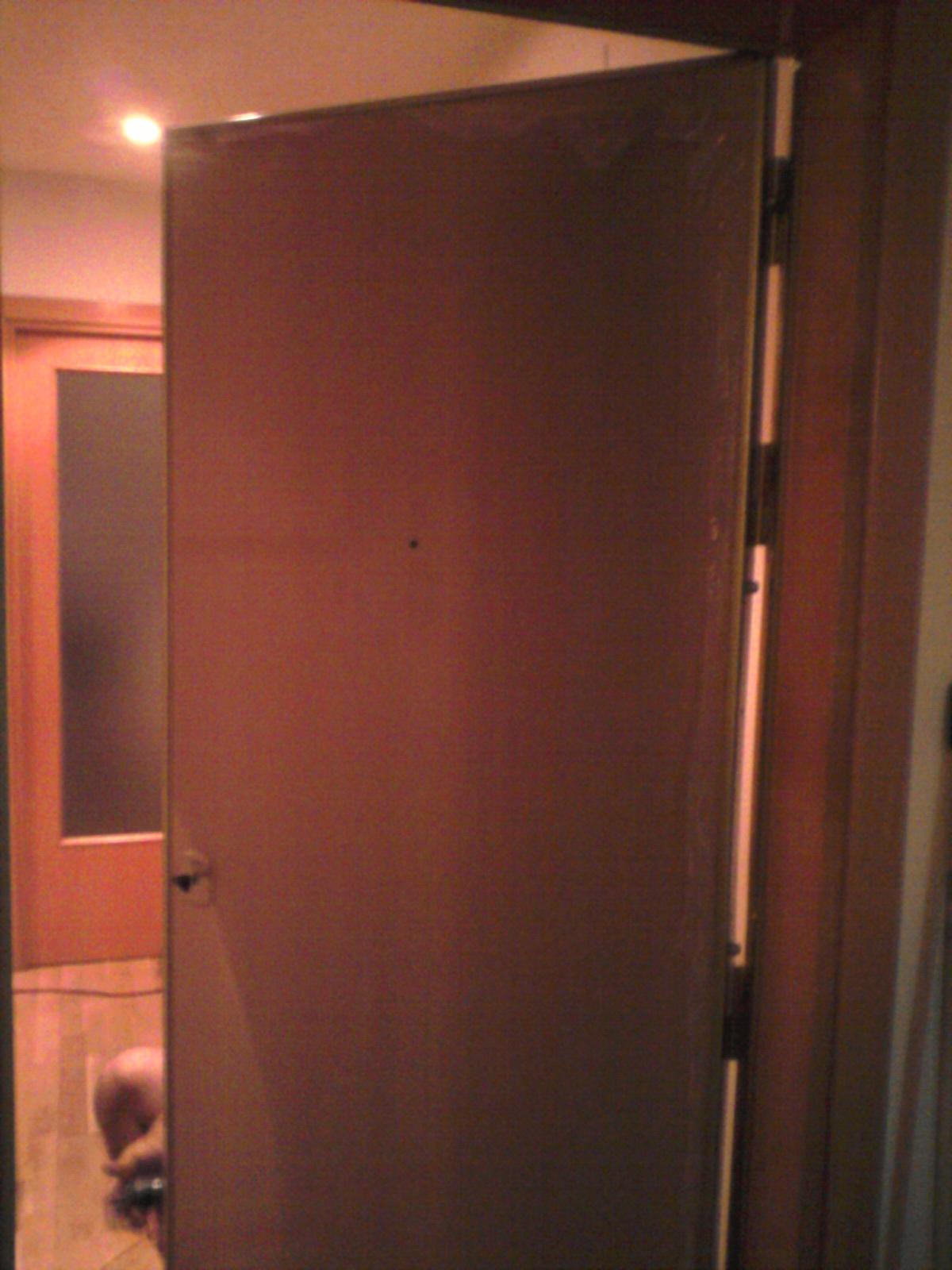 Cambio de puerta normal por puerta blindada (Octubre 2016)