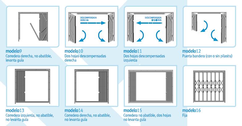Rejas de ballesta para puertas y ventanas rejas y ballestas for Tipos de aluminio para ventanas