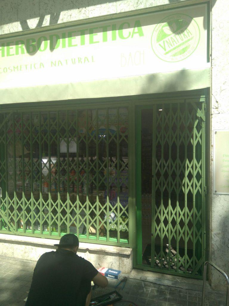 Instalación de ballesta tienda de Cerdanyola (Mayo 2018)