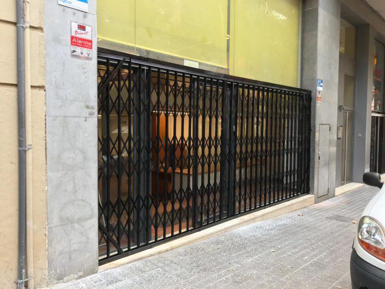 Instalación Reja de Ballesta en Local (Septiembre 2018)